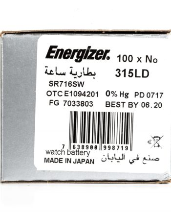 Energizer 100 315