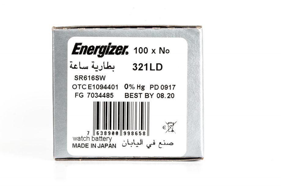 Energizer 100 321