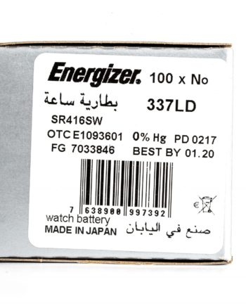 Energizer 100 337