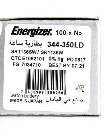 Energizer 100 344-350