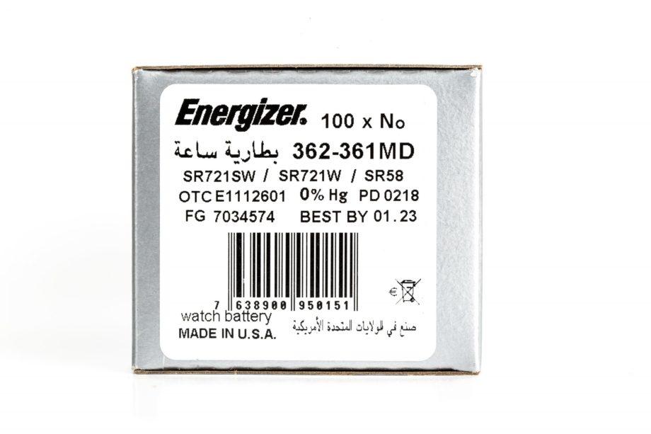 Energizer 100 362-361