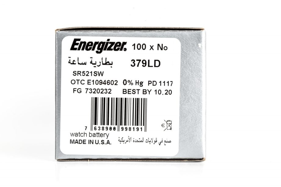 Energizer 100 379