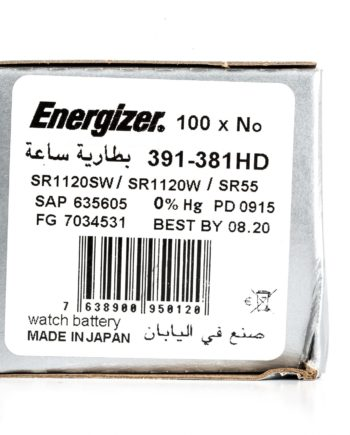Energizer 100 391-381